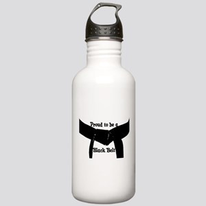 Proud to be a Black Belt Stainless Water Bottle 1.