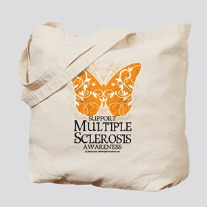 MS Butterfly Tote Bag