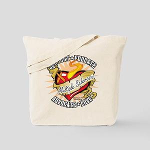 MS Classic Heart Tattoo Tote Bag