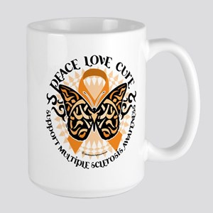 MS Tribal Butterfly Large Mug