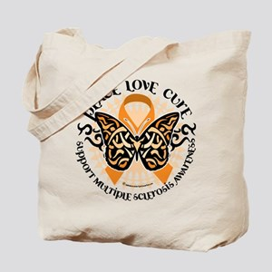 MS Tribal Butterfly Tote Bag