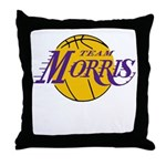 Team Morris! Throw Pillow