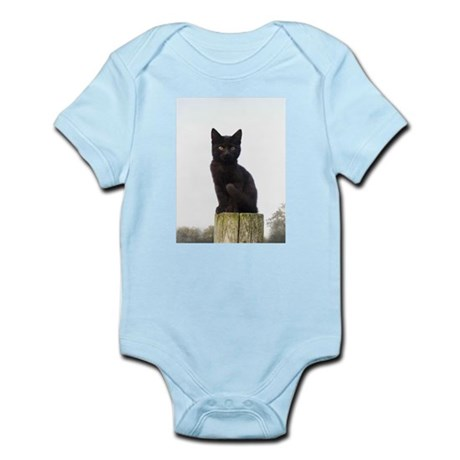 Black Kitty Infant Bodysuit
