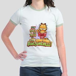 My Awesomeness Jr. Ringer T-Shirt