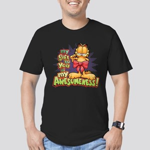 My Awesomeness Men's Fitted T-Shirt (dark)