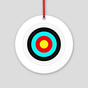 Archery Target Ornament (Round)