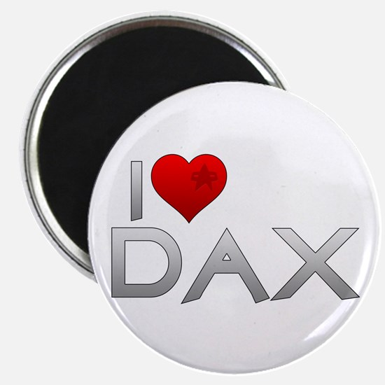 I Heart Dax Magnet