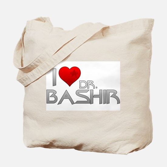 I Heart Dr. Bashir Tote Bag
