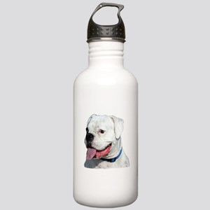 White Boxer Stainless Water Bottle 1.0L