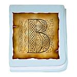 Celtic Letter B Infant Blanket