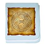 Celtic Letter O Infant Blanket
