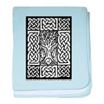 Celtic Knot Bare Branches baby blanket