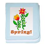 Spring Flowers Infant Blanket