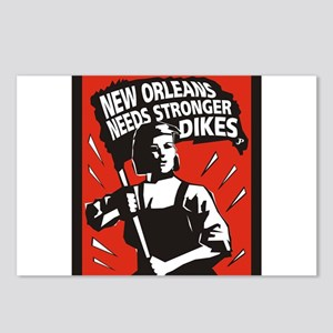 New Orleans Katrina  Stuff Postcards (Package of 8