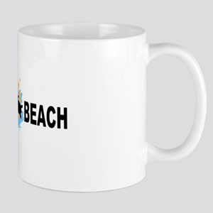Topsail Beach NC - Seashells Design Mug