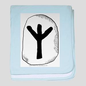 Viking Rune Algiz Infant Blanket