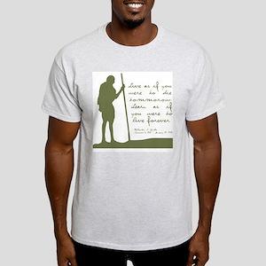 Gandhi Live Quote Light T-Shirt