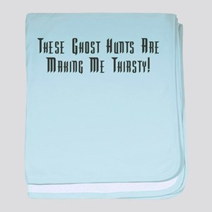 Ghost Hunts Thirsty Infant Blanket
