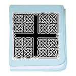 Celtic Square Cross Infant Blanket