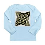 Celtic Dark Sigil Long Sleeve Infant T-Shirt