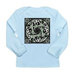 Celtic Spiral Stepping Stone Long Sleeve Infant T-