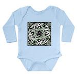 Celtic Spiral Stepping Stone Long Sleeve Infant Bo