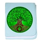 Circle Celtic Tree of Life Infant Blanket