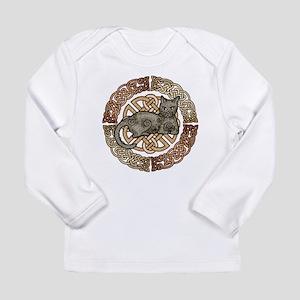 Celtic Cat Long Sleeve Infant T-Shirt