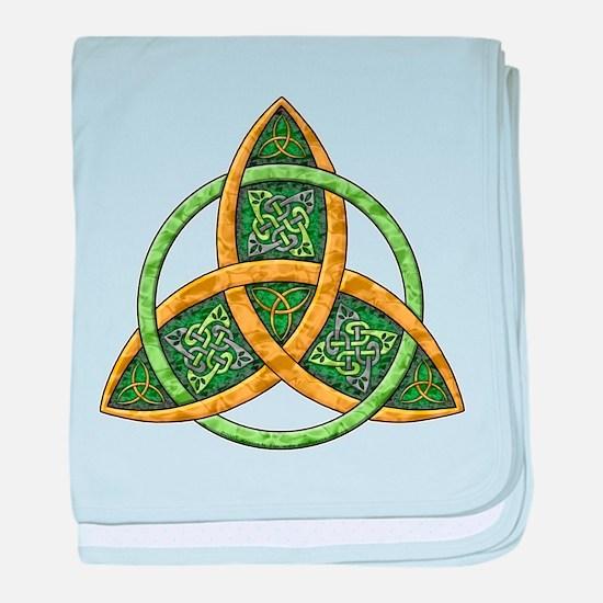Celtic Trinity Knot Infant Blanket