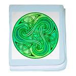 Celtic Triskele Infant Blanket