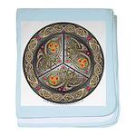 Bejeweled Celtic Shield Infant Blanket