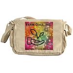 Farm Gals Logo Messenger Bag