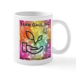 Farm Gals Logo Mugs
