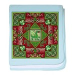 Celtic Dragon Labyrinth Infant Blanket