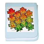 Celtic Leaf Tesselation Infant Blanket