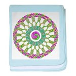 Celtic Spring-Easter Mandala Infant Blanket