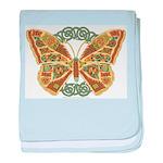 Celtic Butterfly Infant Blanket