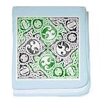 Celtic Puzzle Square Infant Blanket