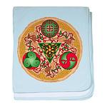 Celtic Reindeer Shield Infant Blanket