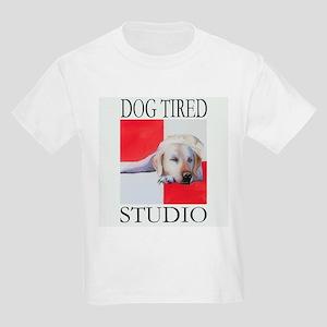 DOG TIRED STUDIO Kids T-Shirt