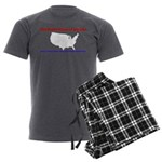 Back to Back Men's Charcoal Pajamas