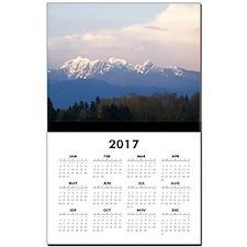 Vancouver Coastal Mountains Calendar Print