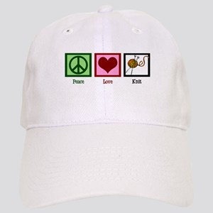 Peace Love Knit Cap