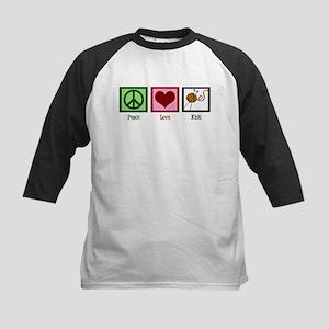 Peace Love Knit Kids Baseball Jersey