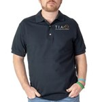 Total Information Awareness Dark Polo Shirt