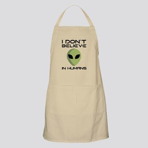 I Don't Believe In Humans Apron