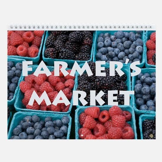 Farmer's Market Wall Calendar