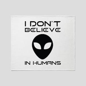 I Don't Believe In Humans Stadium Blanket