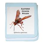 Cicada Killer Infant Blanket