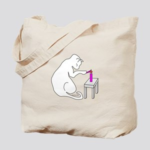 A Candle for Breast Cancer Tote Bag